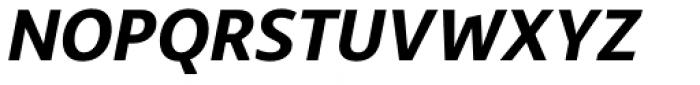 Bale Bold Italic Font UPPERCASE
