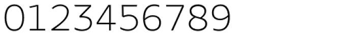 Bale Mono Thin Font OTHER CHARS