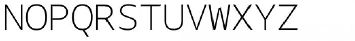 Bale Mono Thin Font UPPERCASE