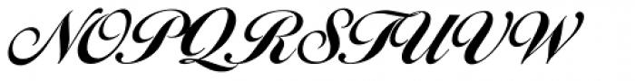 Balladeer Bold Font UPPERCASE