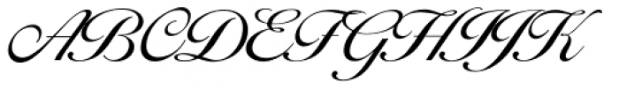 Balladeer Light Font UPPERCASE