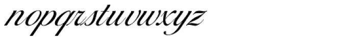 Balladeer Light Font LOWERCASE