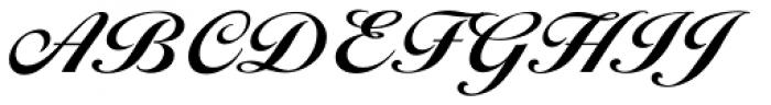 Ballantines Script EF Bold Font UPPERCASE