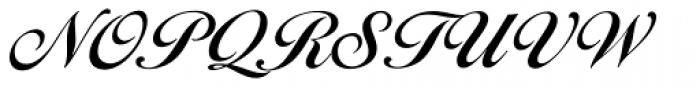 Ballantines Script EF Demi Bold Font UPPERCASE