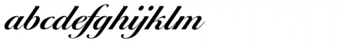 Ballantines Script EF Demi Bold Font LOWERCASE