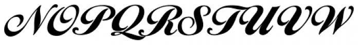 Ballantines Script EF Heavy Font UPPERCASE