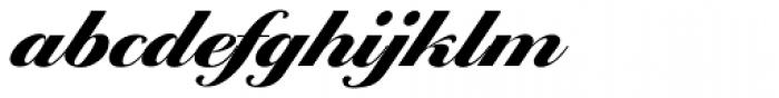 Ballantines Script EF Heavy Font LOWERCASE