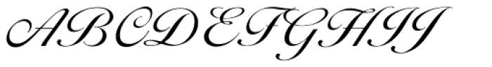 Ballantines Script EF Light Font UPPERCASE