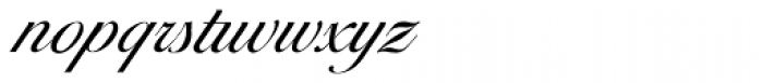 Ballantines Script EF Light Font LOWERCASE