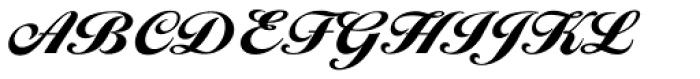 Ballantines Serial Black Font UPPERCASE