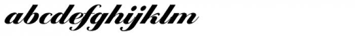 Ballantines Serial Black Font LOWERCASE