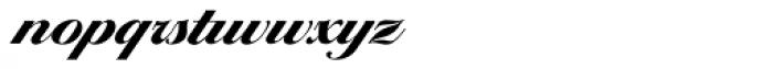 Ballantines Serial Heavy Font LOWERCASE