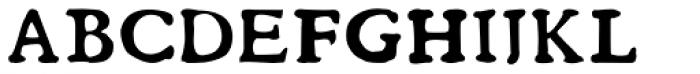 Ballard Full Font UPPERCASE
