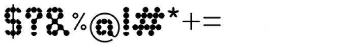 Ballestro Regular Font OTHER CHARS
