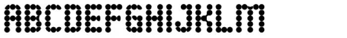 Ballestro Regular Font UPPERCASE