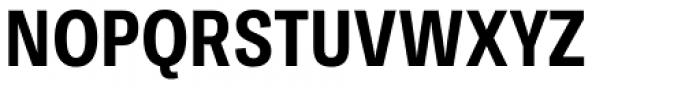 Ballinger Condensed Series Condensed Bold Font UPPERCASE