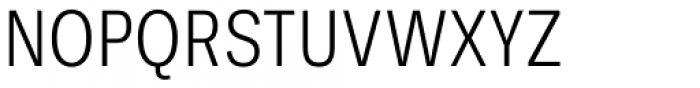 Ballinger Condensed Series Condensed Light Font UPPERCASE
