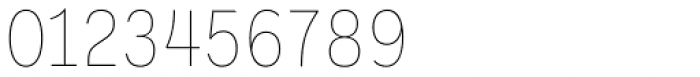 Ballinger Condensed Series Condensed Thin Font OTHER CHARS
