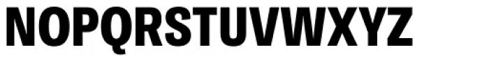 Ballinger Condensed Series Condensed X-Bold Font UPPERCASE