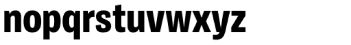 Ballinger Condensed Series Condensed X-Bold Font LOWERCASE