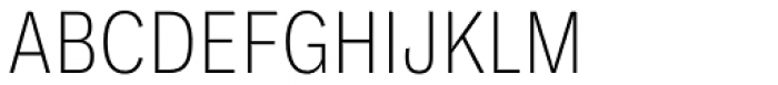 Ballinger Condensed Series Condensed X-Light Font UPPERCASE