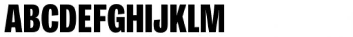 Ballinger Condensed Series X-Condensed Black Font UPPERCASE