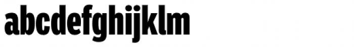 Ballinger Condensed Series X-Condensed Black Font LOWERCASE