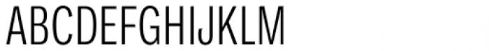 Ballinger Condensed Series X-Condensed Light Font UPPERCASE