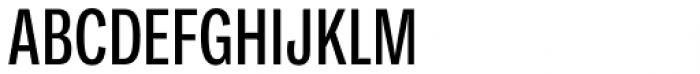Ballinger Condensed Series X-Condensed Medium Font UPPERCASE