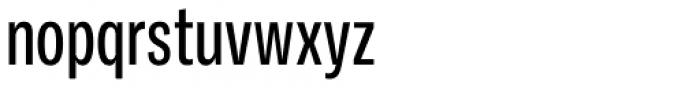 Ballinger Condensed Series X-Condensed Medium Font LOWERCASE