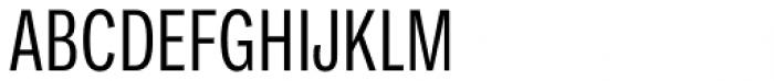 Ballinger Condensed Series X-Condensed Regular Font UPPERCASE