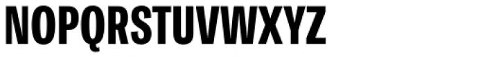 Ballinger Condensed Series X-Condensed X-Bold Font UPPERCASE