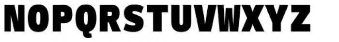 Ballinger Mono Black Font UPPERCASE