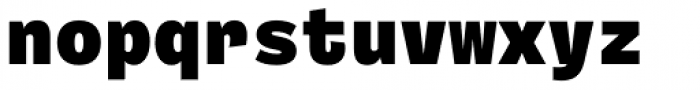 Ballinger Mono Black Font LOWERCASE