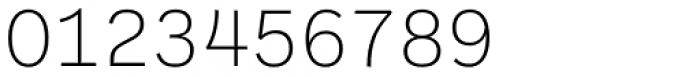 Ballinger Mono X-Light Font OTHER CHARS