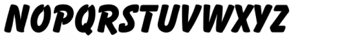 Balloon ExtraBold Font LOWERCASE