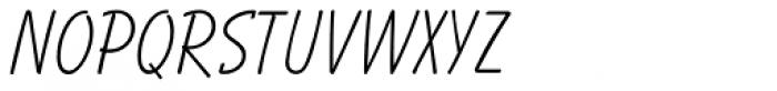 Balloon Light Font UPPERCASE