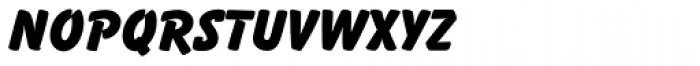 Balloon SC D ExtraBold Font LOWERCASE