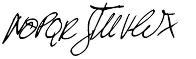 Ballpen Slanted Font UPPERCASE