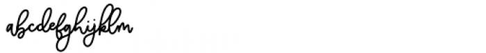 Balmonde Regular Font LOWERCASE