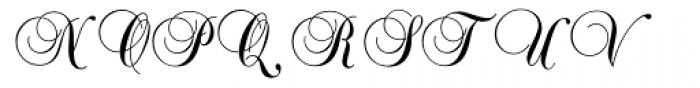 Balmoral ICG Font UPPERCASE