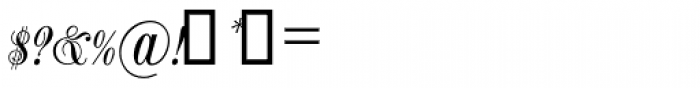 Balmoral SH Regular Font OTHER CHARS