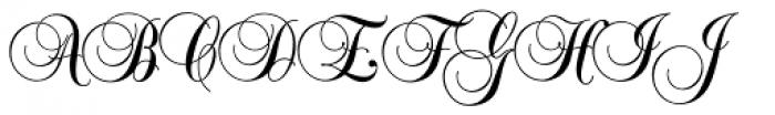 Balmoral SH Regular Font UPPERCASE