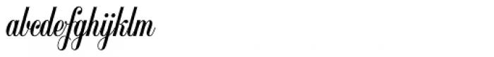 Balmoral SH Regular Font LOWERCASE