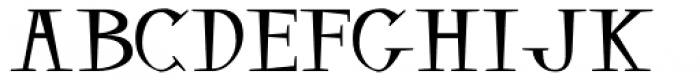 Balsamo Font UPPERCASE