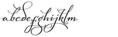 Baltan Swash SemiBold Font LOWERCASE