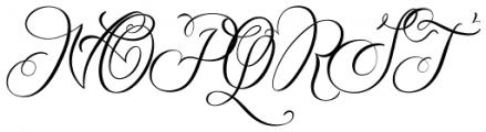 Baltan Font UPPERCASE