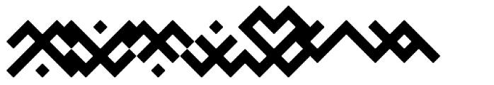 Baltic Ornaments B Font OTHER CHARS