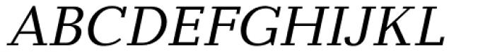 Baltica Italic Font UPPERCASE
