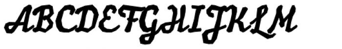Balzac Font UPPERCASE